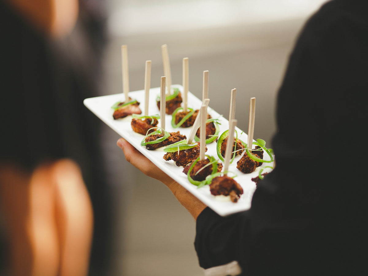 Canape railtown catering for Catering canape